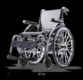Karma S-Ergo 115 transit or self propel wheelchair