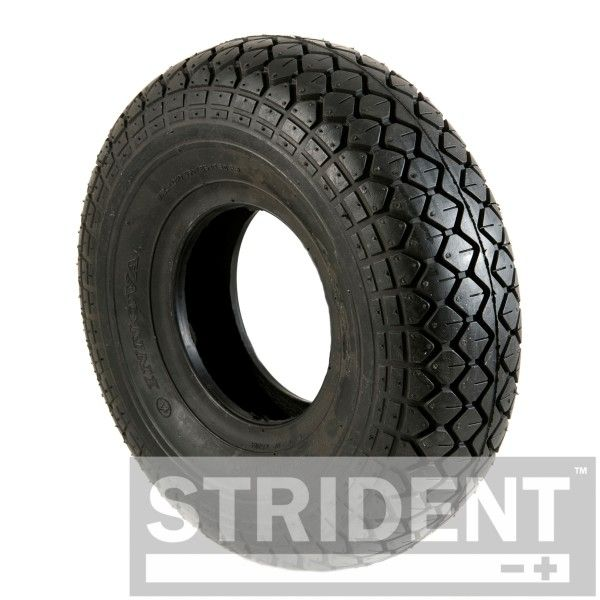 2 x 4.00 x 5 (330 x100) black diamond block tyres