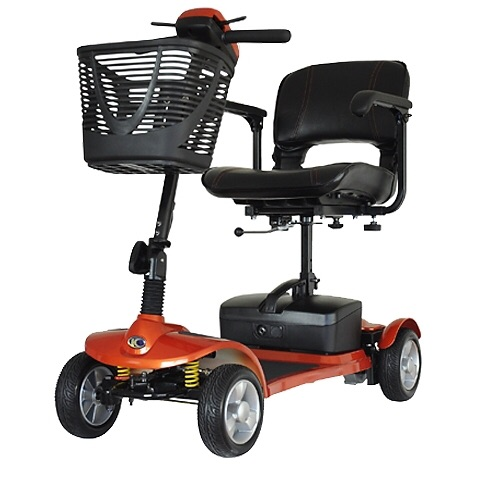 Kymco K-Lite Comfort portable mobility 'boot' scooter.