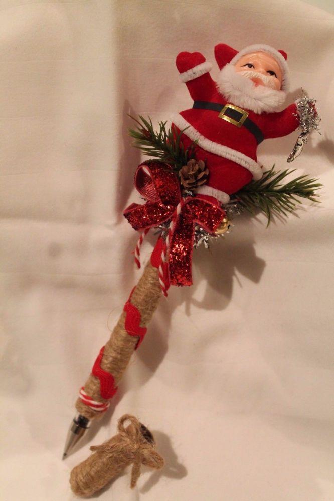 Santa Christmas Pen