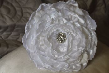 Large Single Flower Composite/ Glamelia Wedding Bouquet