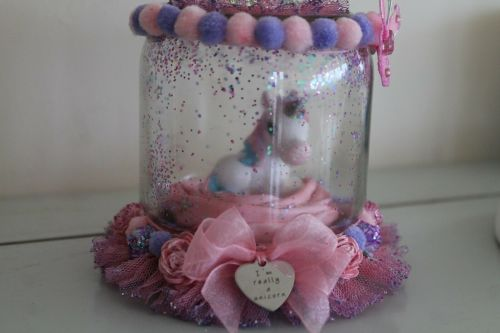 Magical Unicorn Decorative Jar Ornament