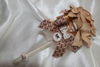 Gold Rose Flower Pen
