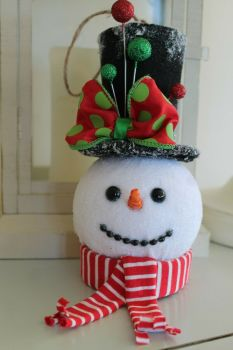 Snowman Christmas Tree Decoration