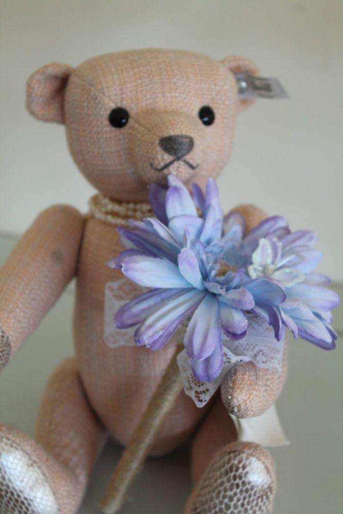 Blue Gerbera Flower Pen