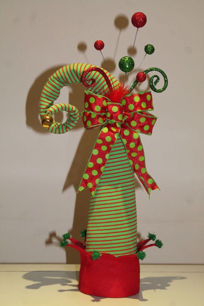 Elf Hat Christmas Tree Topper