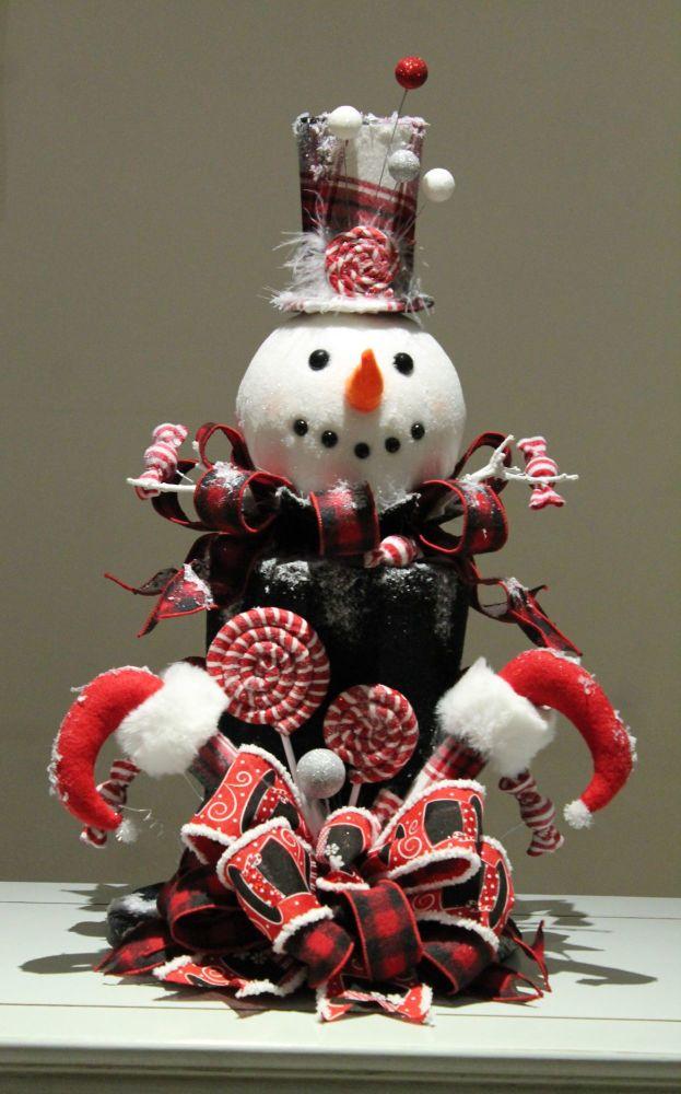 Snowman Centrepiece