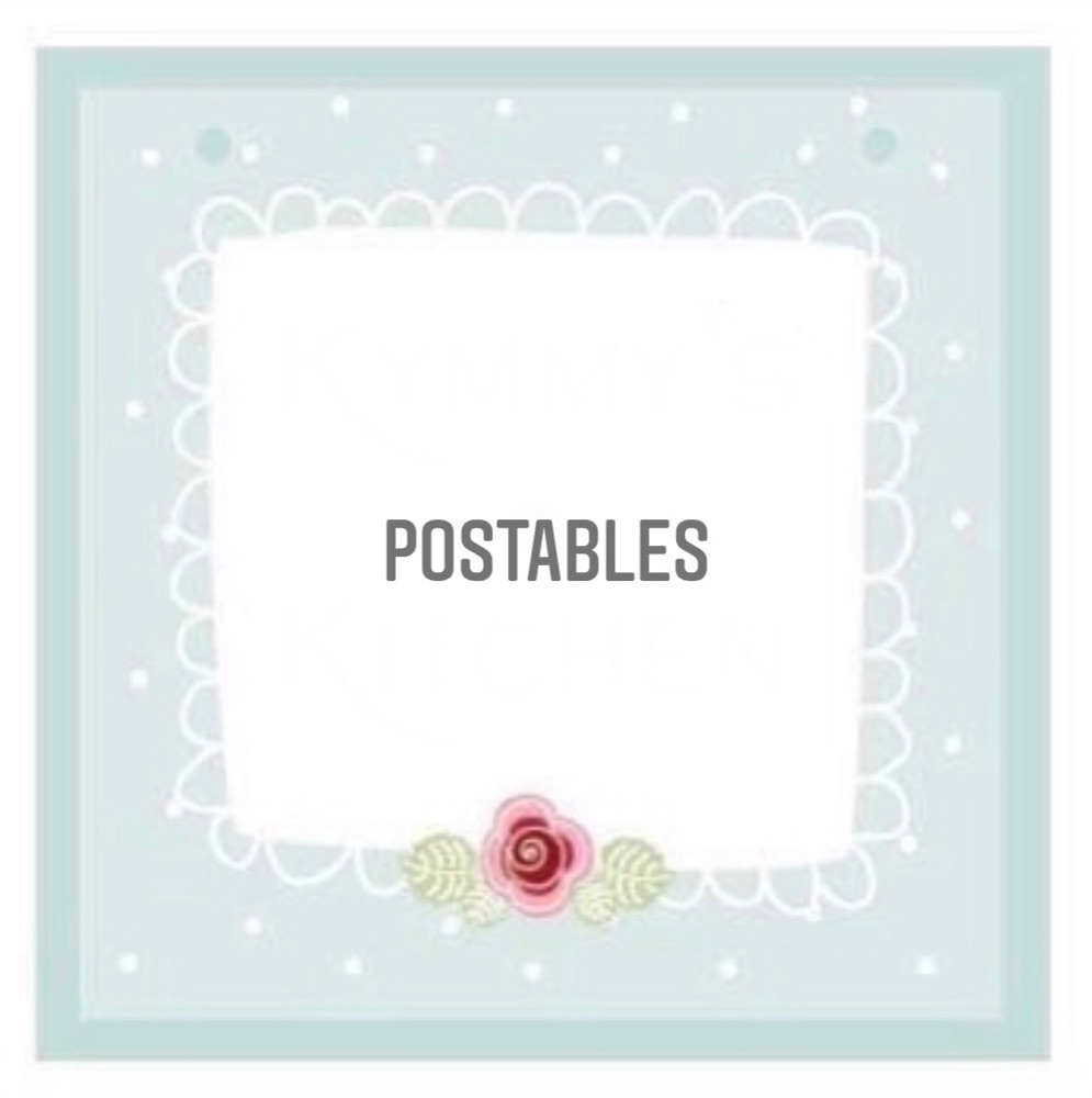 POSTABLES - Treats suitable for posting