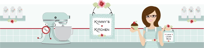 Kymmy's Kitchen, site logo.