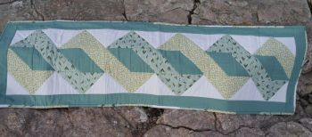 Twisted Pole Table Runner