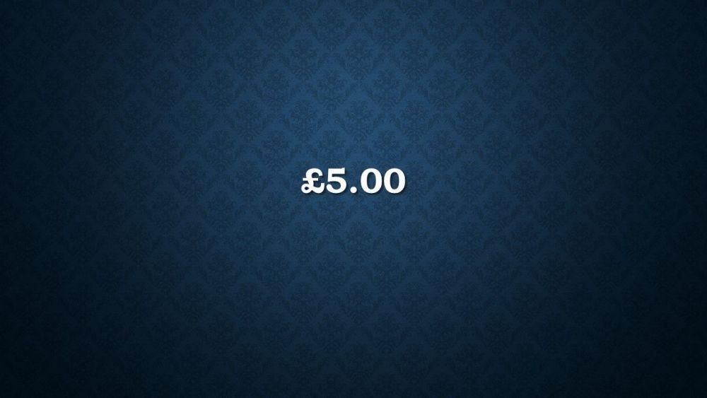 £5.00 Voucher