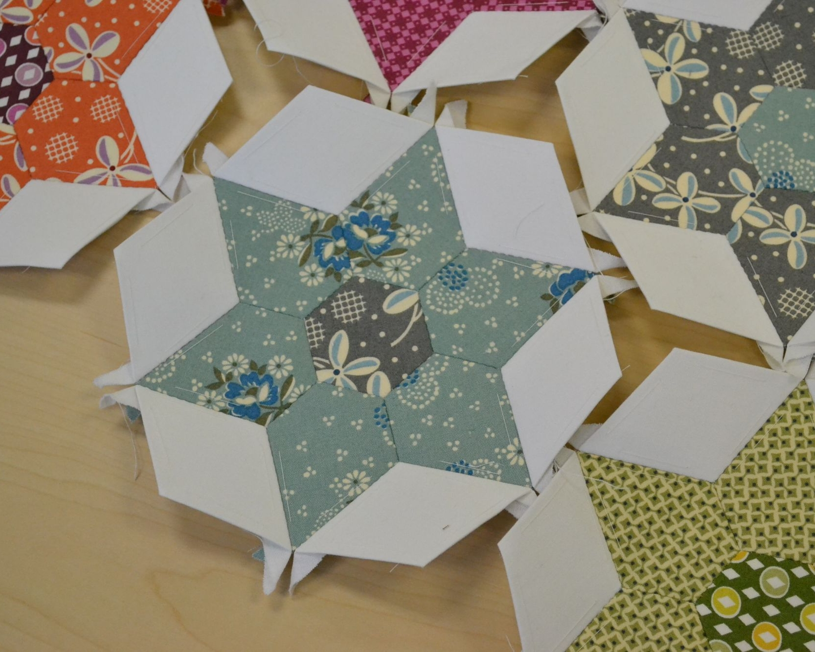 Monthly Hand Quilting & Paper Piecing Club