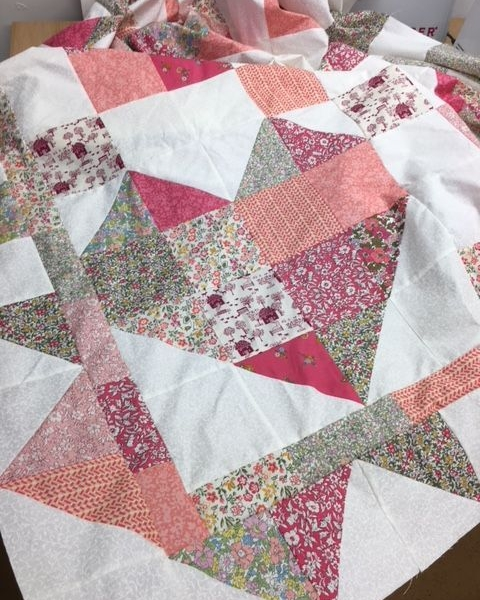 'Love Liberty' Quilt