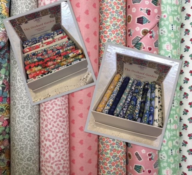 Fat Quarter Bundles and Jelly Rolls - Liberty