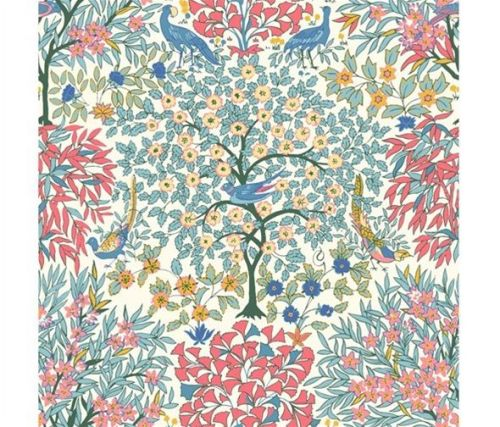 The Orchard Garden - Pheasant Forest - Pink - Liberty - EQS