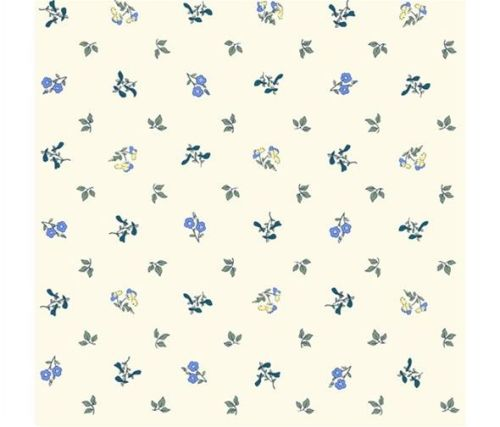 The Orchard Garden - Pome Blossom - Blue - Liberty - EQS