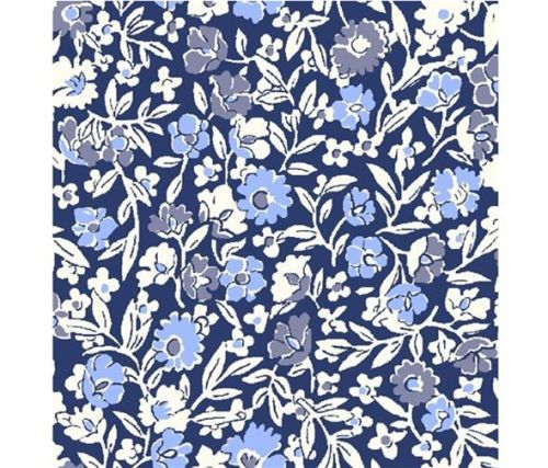The Orchard Garden - Primula Dawn - Blue - Liberty - EQS