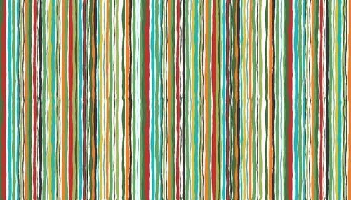 Makower Dragon Heart - wavy stripe