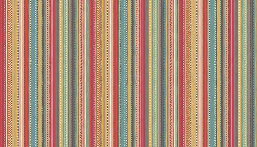 Makower 'Ellie' - Dotty Stripe