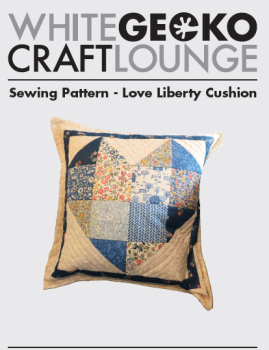 'Love Liberty' Cushion