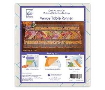 Quilt as you go - Table Runner - Venice