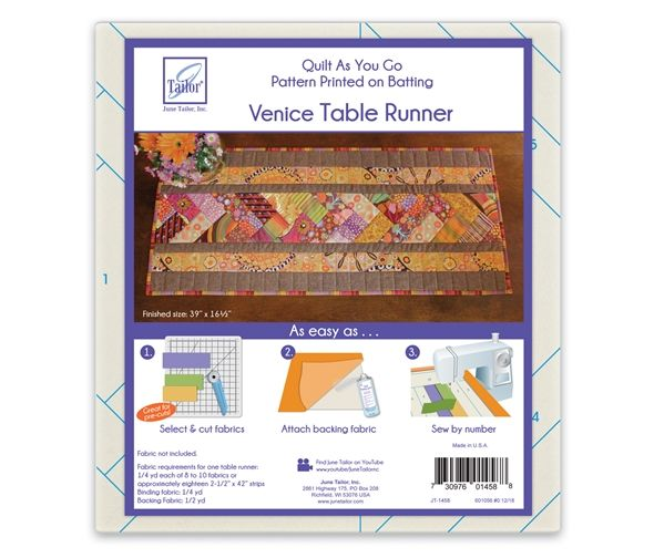 Quilt as you go - Table Runner