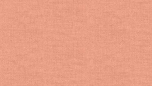 Makower 1473/P Coral Pink Linen Texture