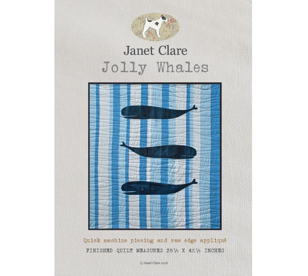 Janet Clare's Jolly Whales