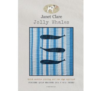 Janet Clare's Jolly Whales (JC135)
