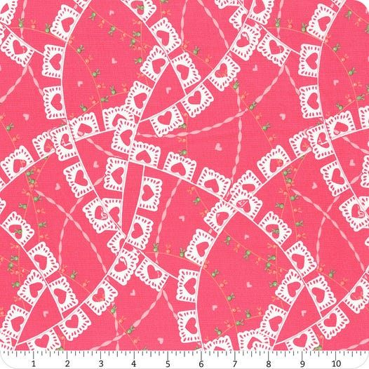 MODA - Llama love - Rosy Pink Banners