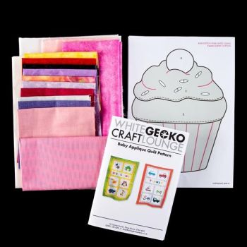 Personalised Applique Baby Quilt Kit