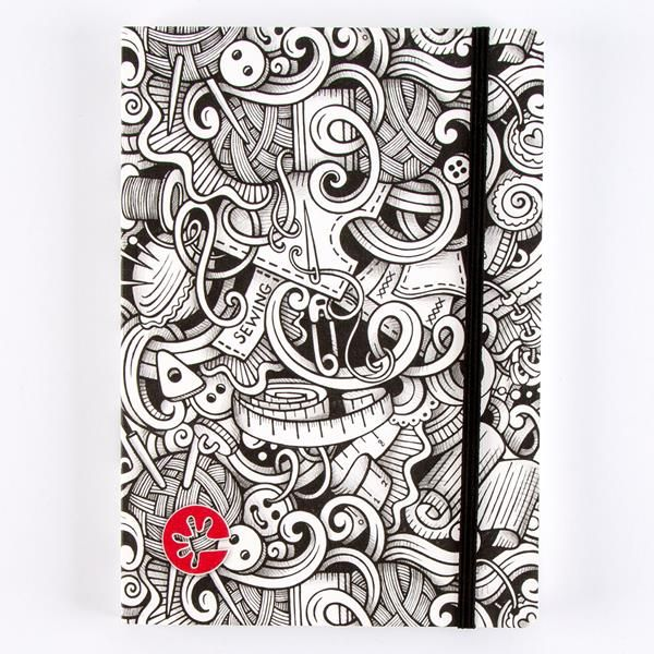 'TakeNoteBooks' Quilting Notebooks