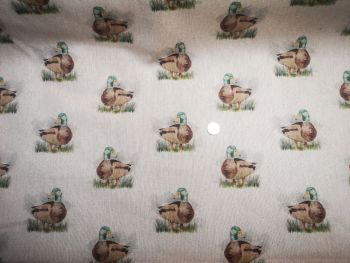Duck Linen Fabric - sold in 1/2m pieces - not continuous meterage