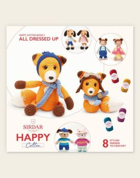 Sirdar Happy Cotton Book - All Dressed Up 1
