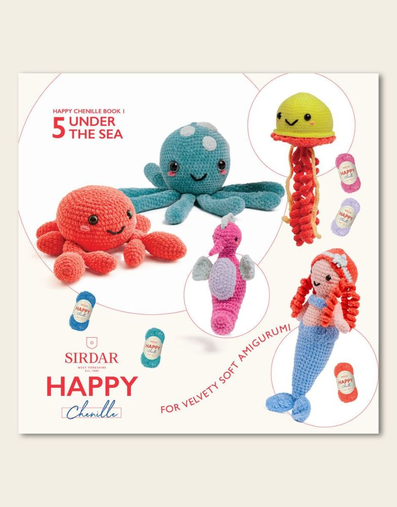Sirdar Happy Chenille Book - Under The Sea