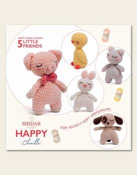 Sirdar Happy Chenille Book - Little Friends