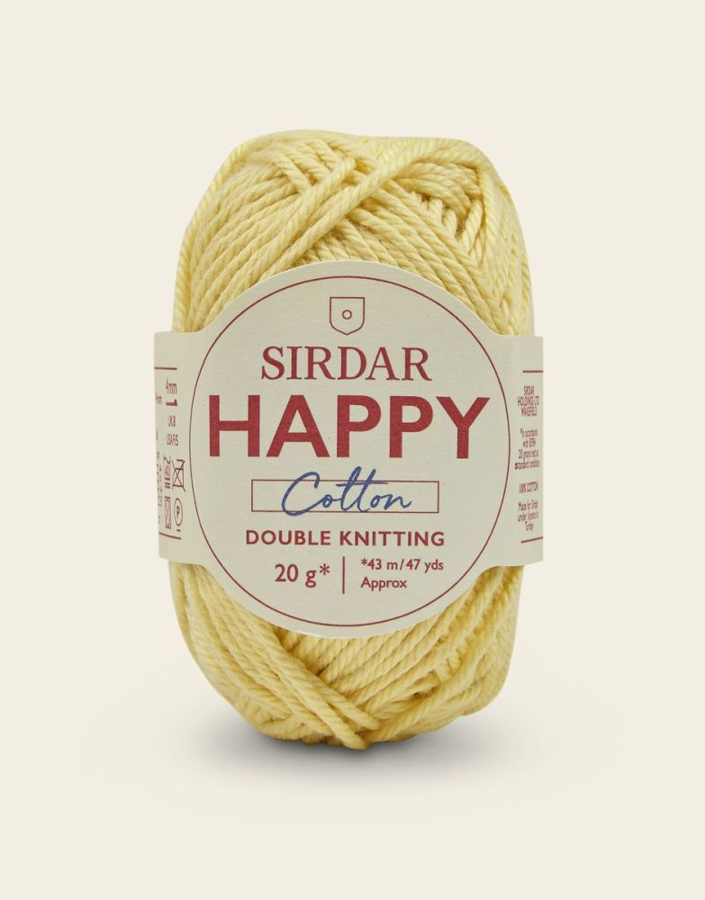 Sirdar Happy Cotton - Sundae