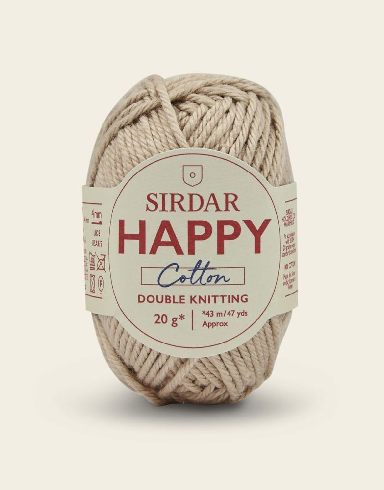 Sirdar Happy Cotton - Sand Castle