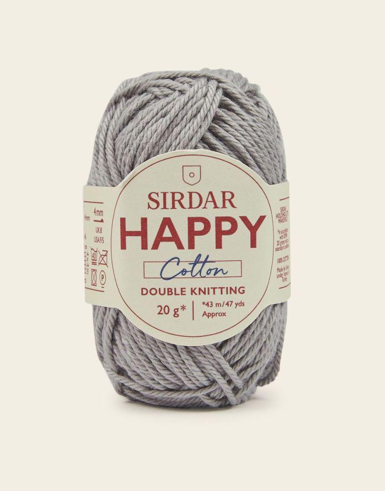 Sirdar Happy Cotton - Pebble