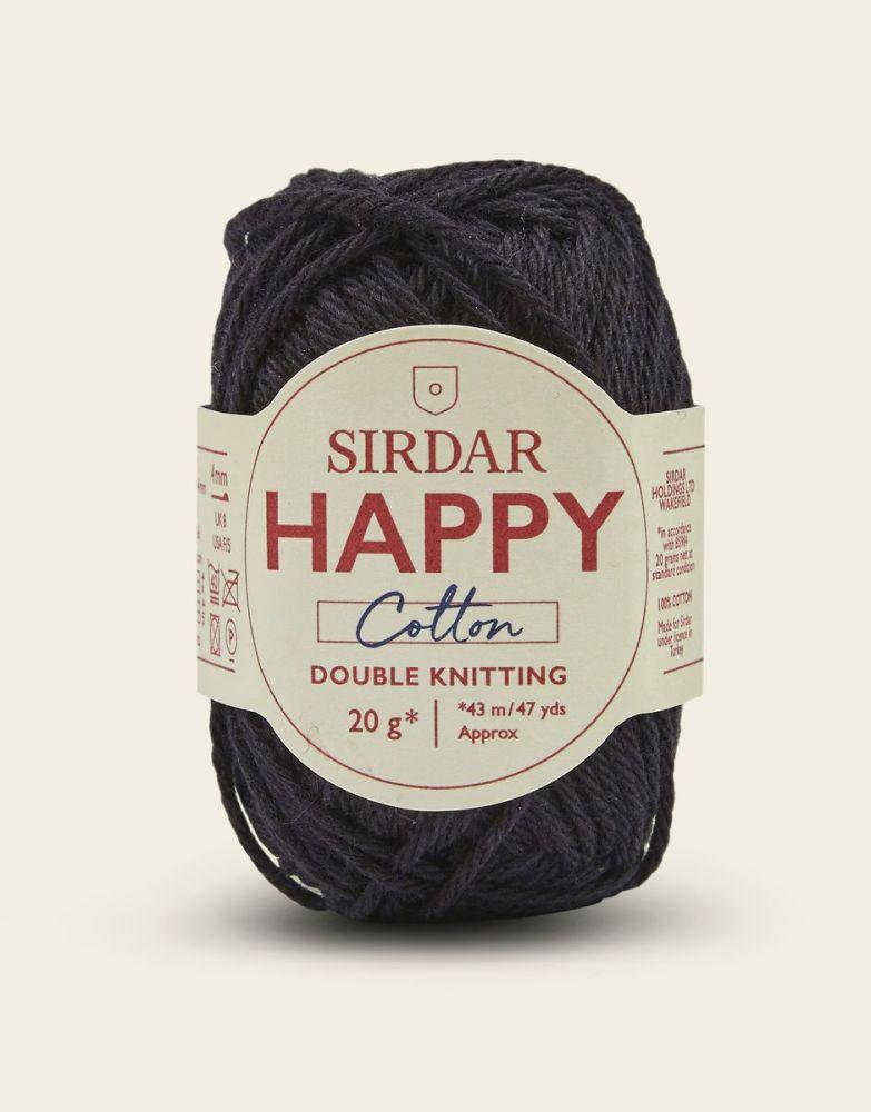 Sirdar Happy Cotton - Liquorice