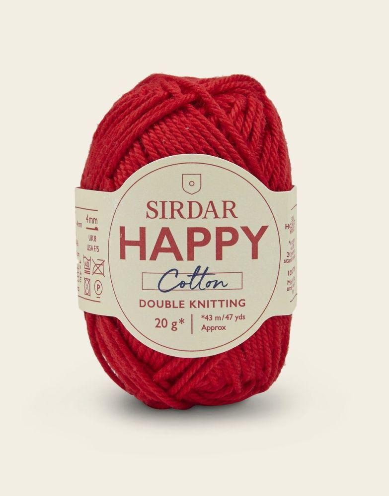 Sirdar Happy Cotton - Lippy