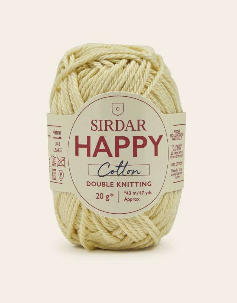 Sirdar Happy Cotton - Lemonade