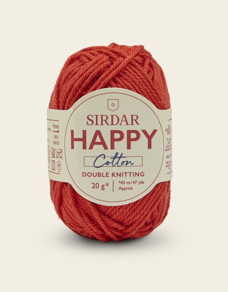Sirdar Happy Cotton - Ketchup