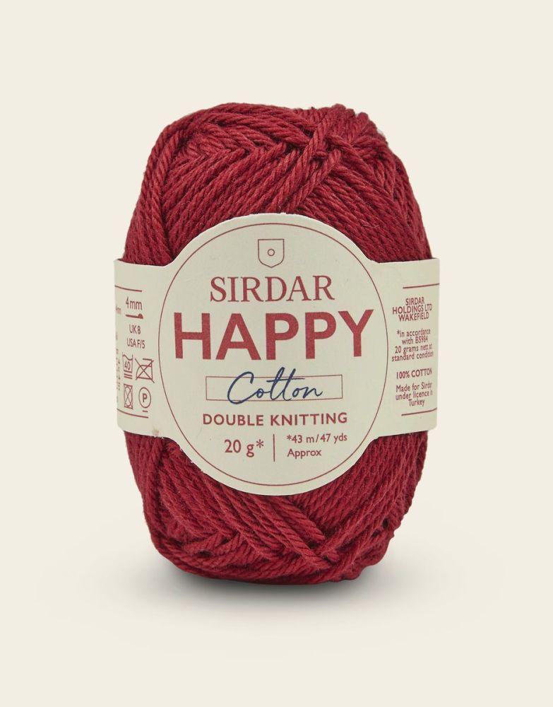 Sirdar Happy Cotton - Chilli