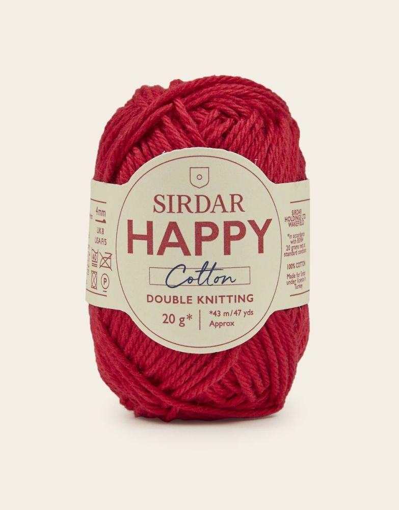 Sirdar Happy Cotton - Cherryade