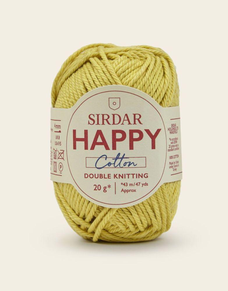 Sirdar Happy Cotton - Buttercup