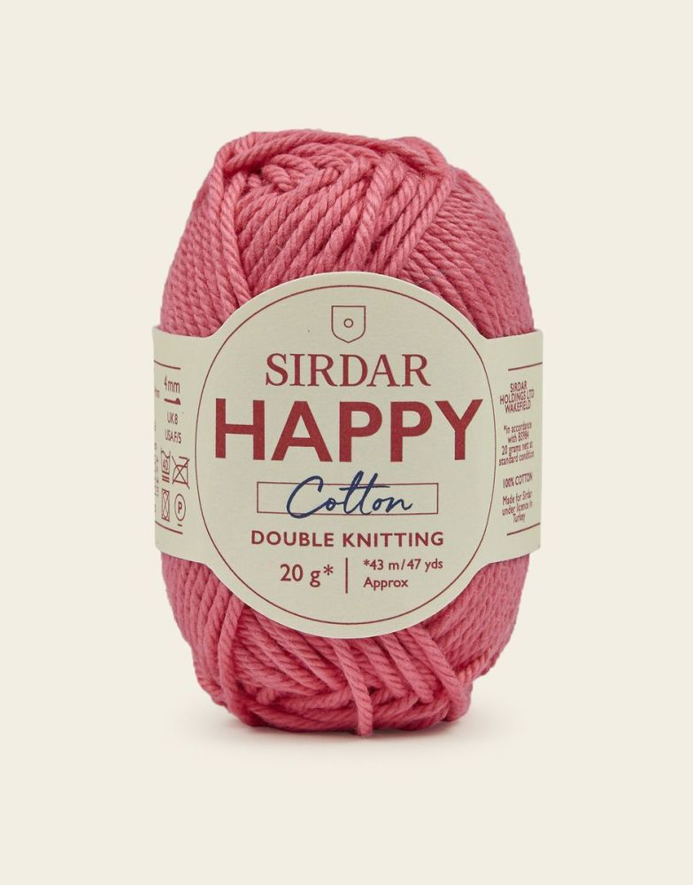 Sirdar Happy Cotton - Bubblegum