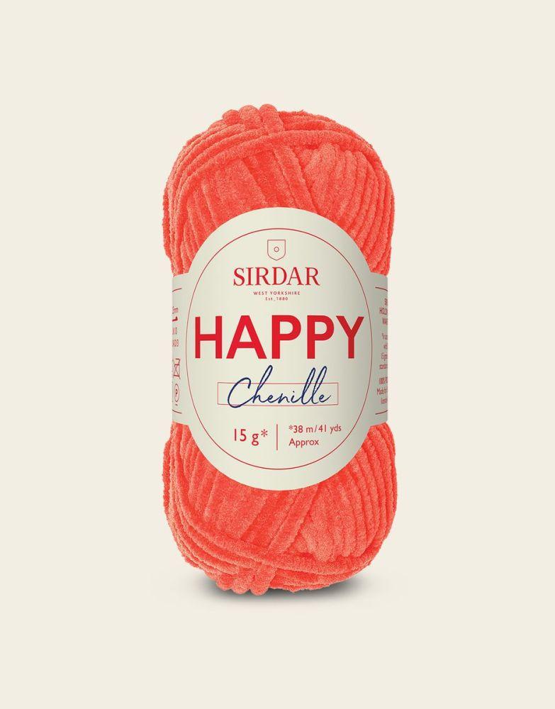 Sirdar Happy Chenille - Tutti Frutti