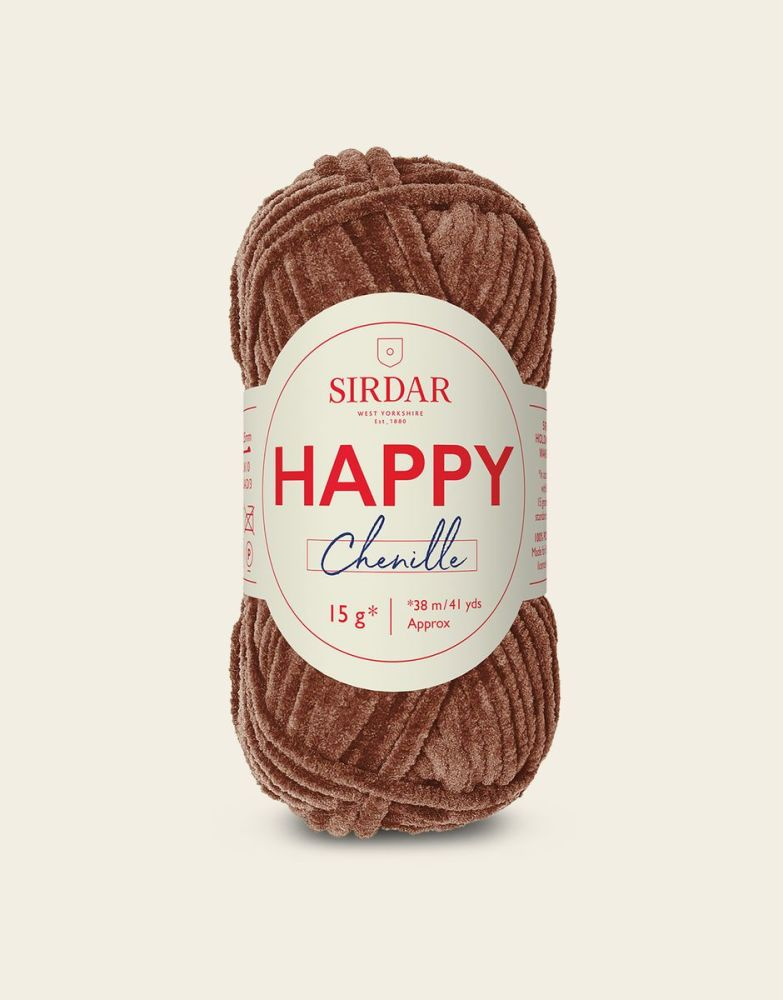 Sirdar Happy Chenille - Teddy