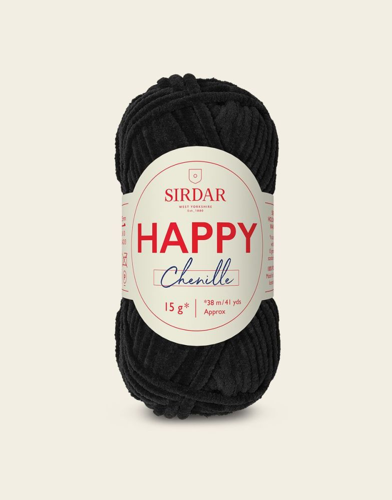 Sirdar Happy Chenille - Ink Spot